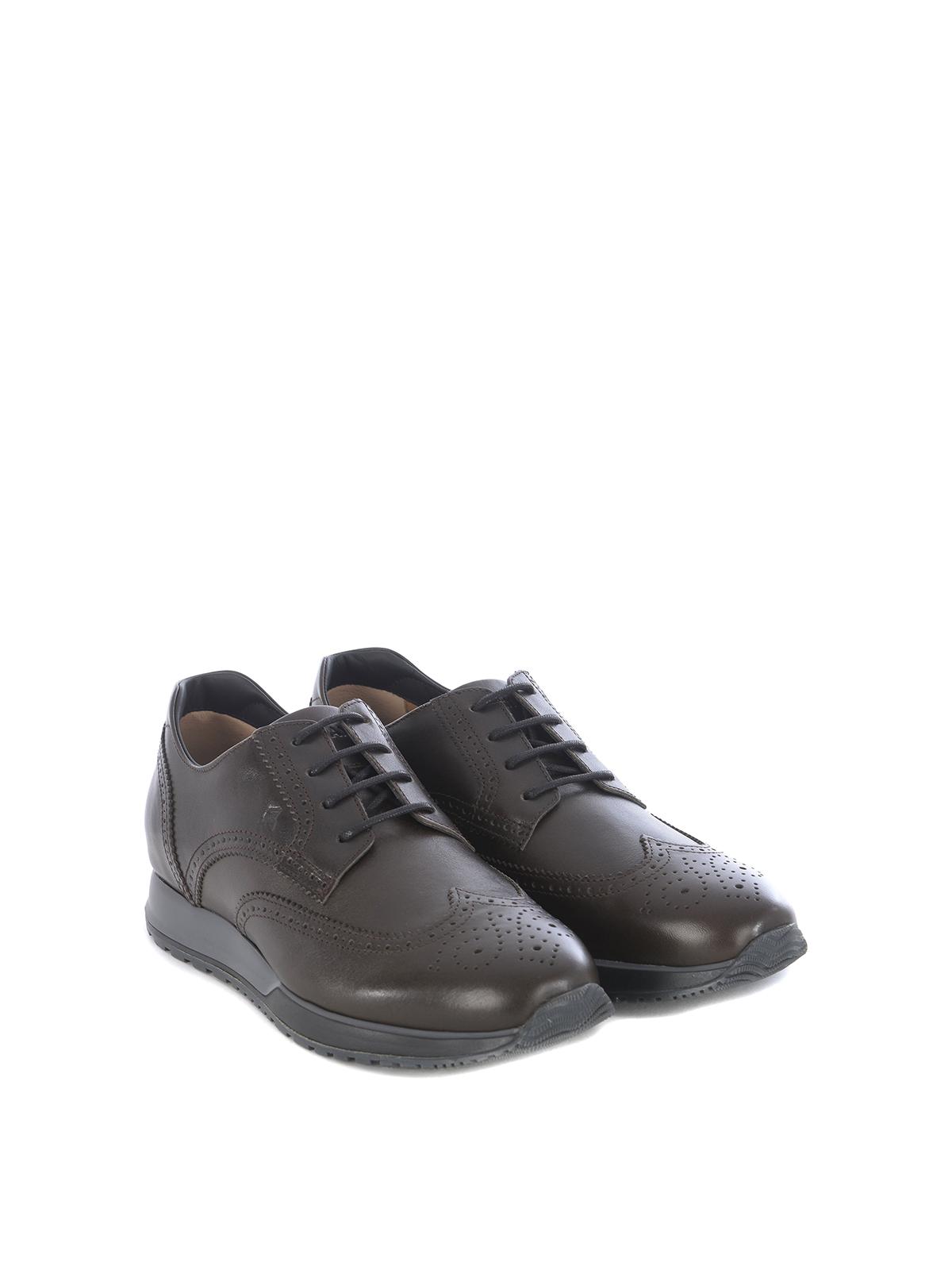 Trainers Hogan - H321 Derby brogue sneakers - HXM3210BX50LDVS807