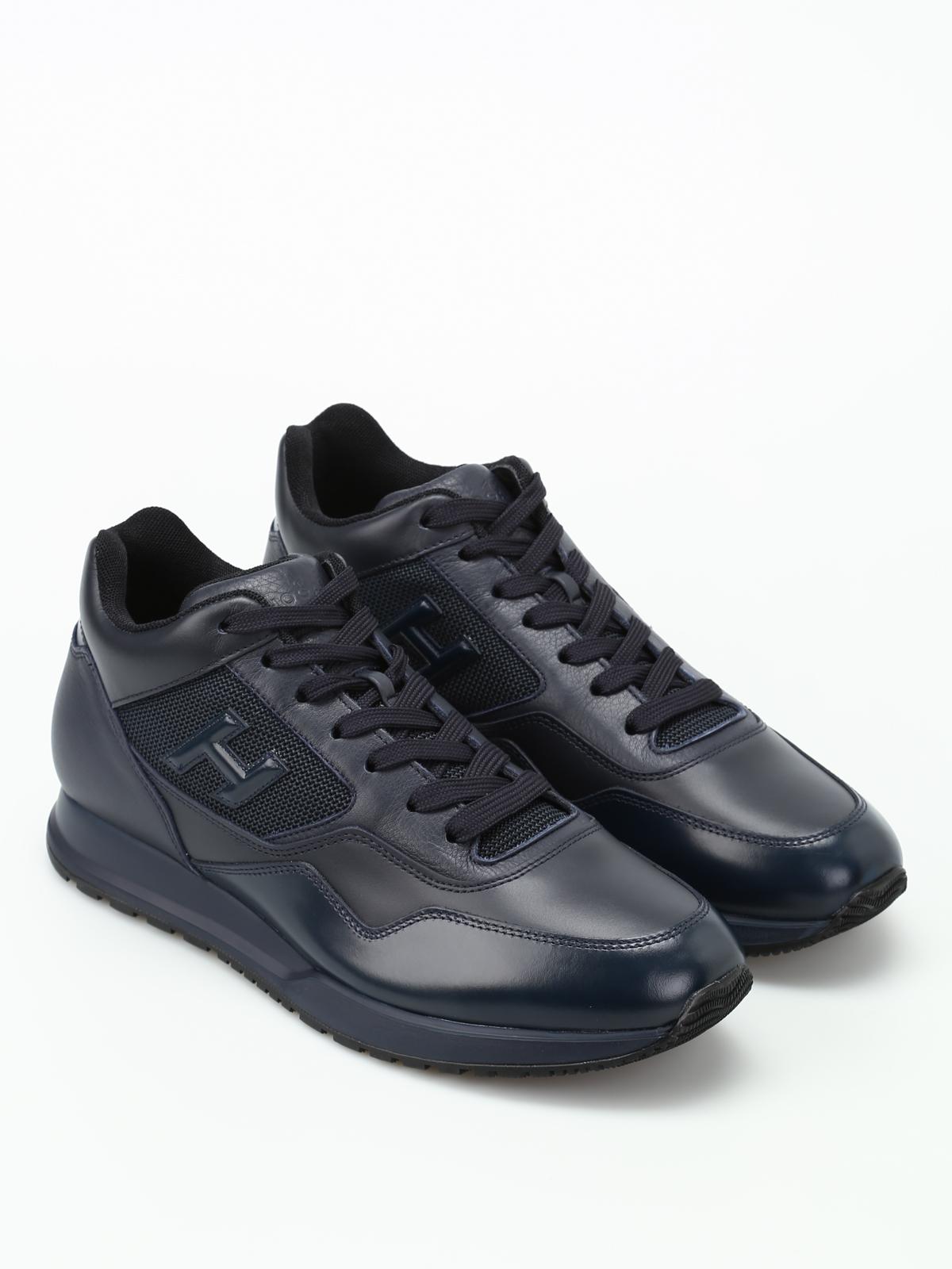 Sneakers Hogan - Polacco H321 in pelle bicolore - HXM3210Z880HUI813L