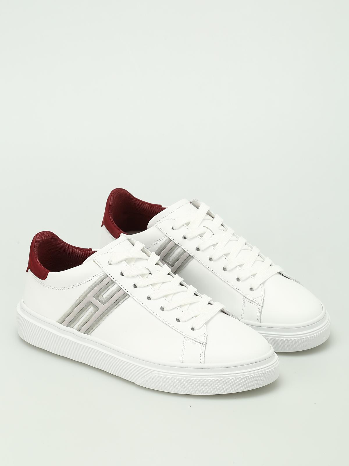 Hogan - Sneaker basse bianche H340 - sneakers - HXM3400J300HT1297X 9dfefe9e7f1