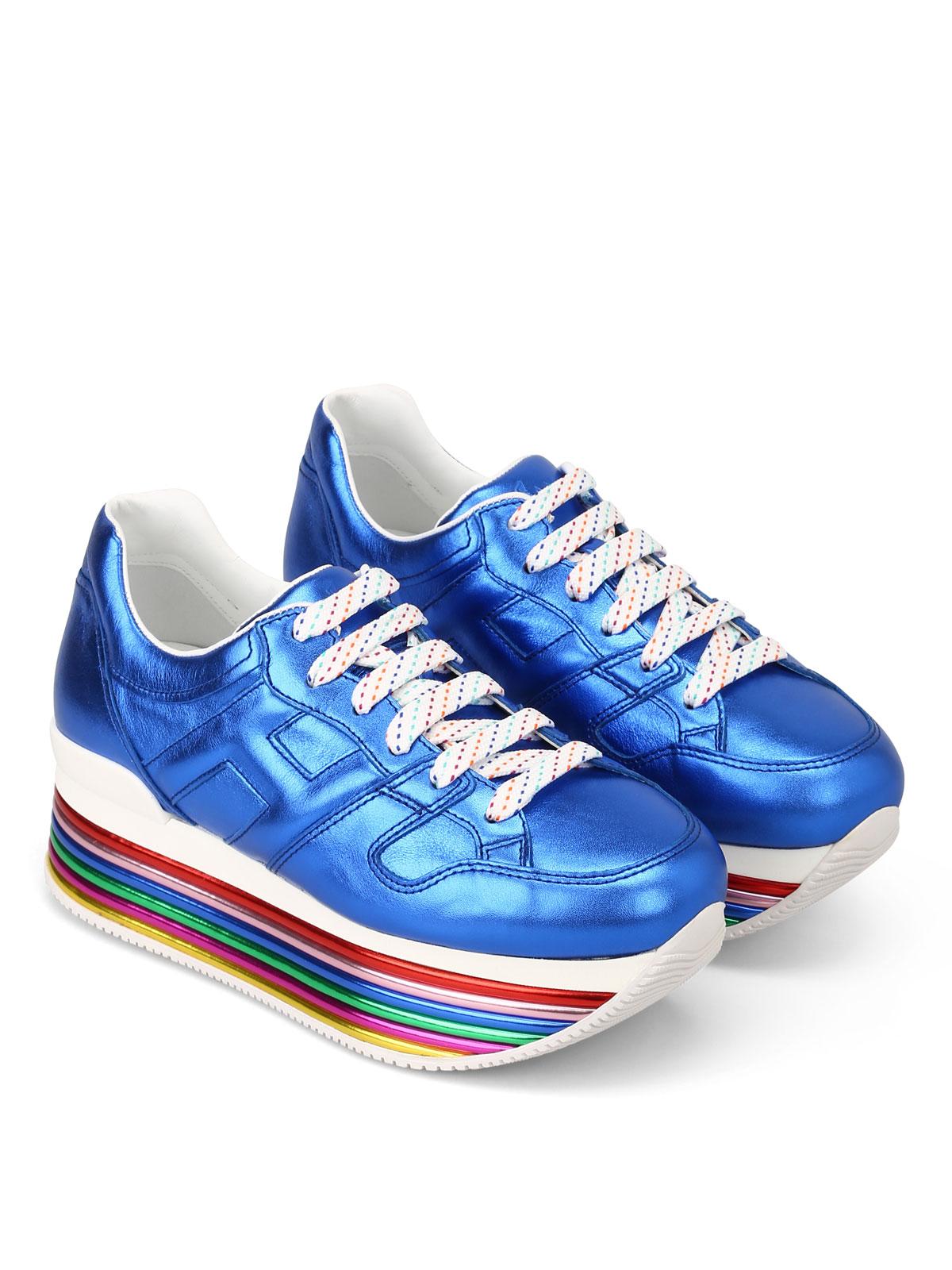 Trainers Hogan - H352 maxi platform sneakers - GYW3520T548SV0U605