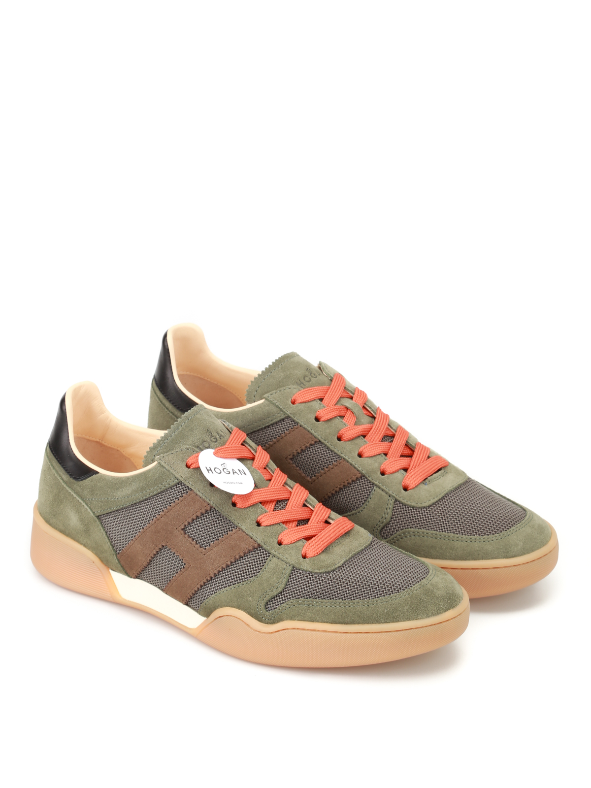Hogan - H357 suede and fabric sneakers