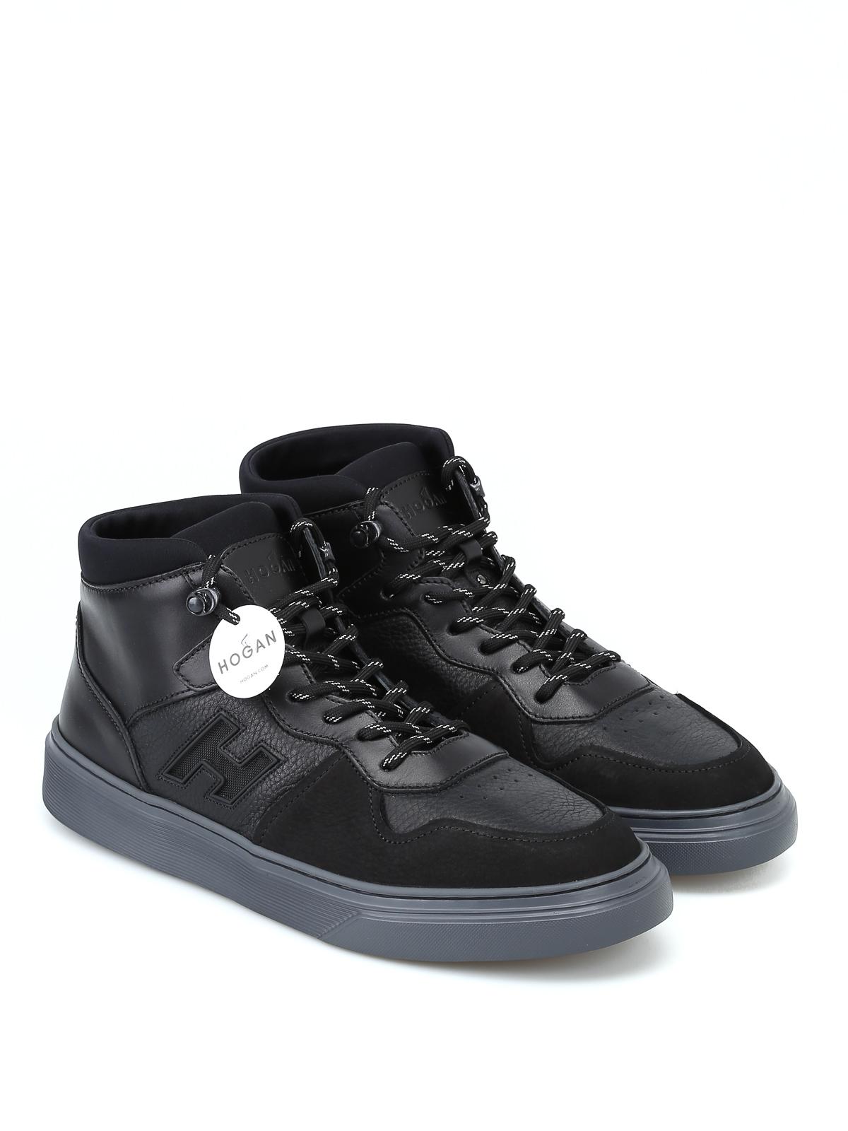 e5ff352db9 HOGAN: sneakers online - Sneaker alte H365 nere modello basket