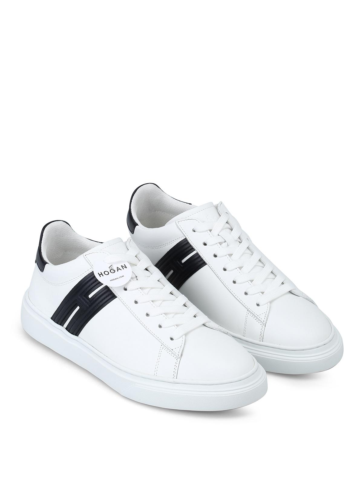 Sneakers Hogan - Sneaker bianche H365 in pelle - HXM3650J310KLA1353