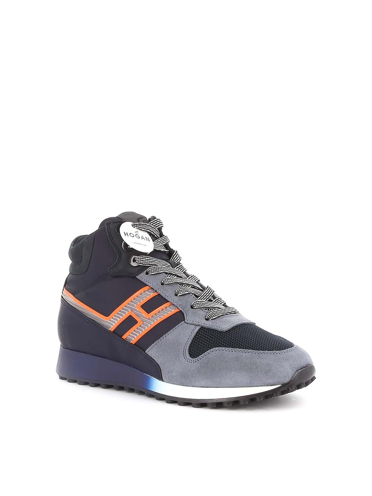 Hogan - H383 high top sneakers - trainers - HXM4790BX10LPI50B1 ...