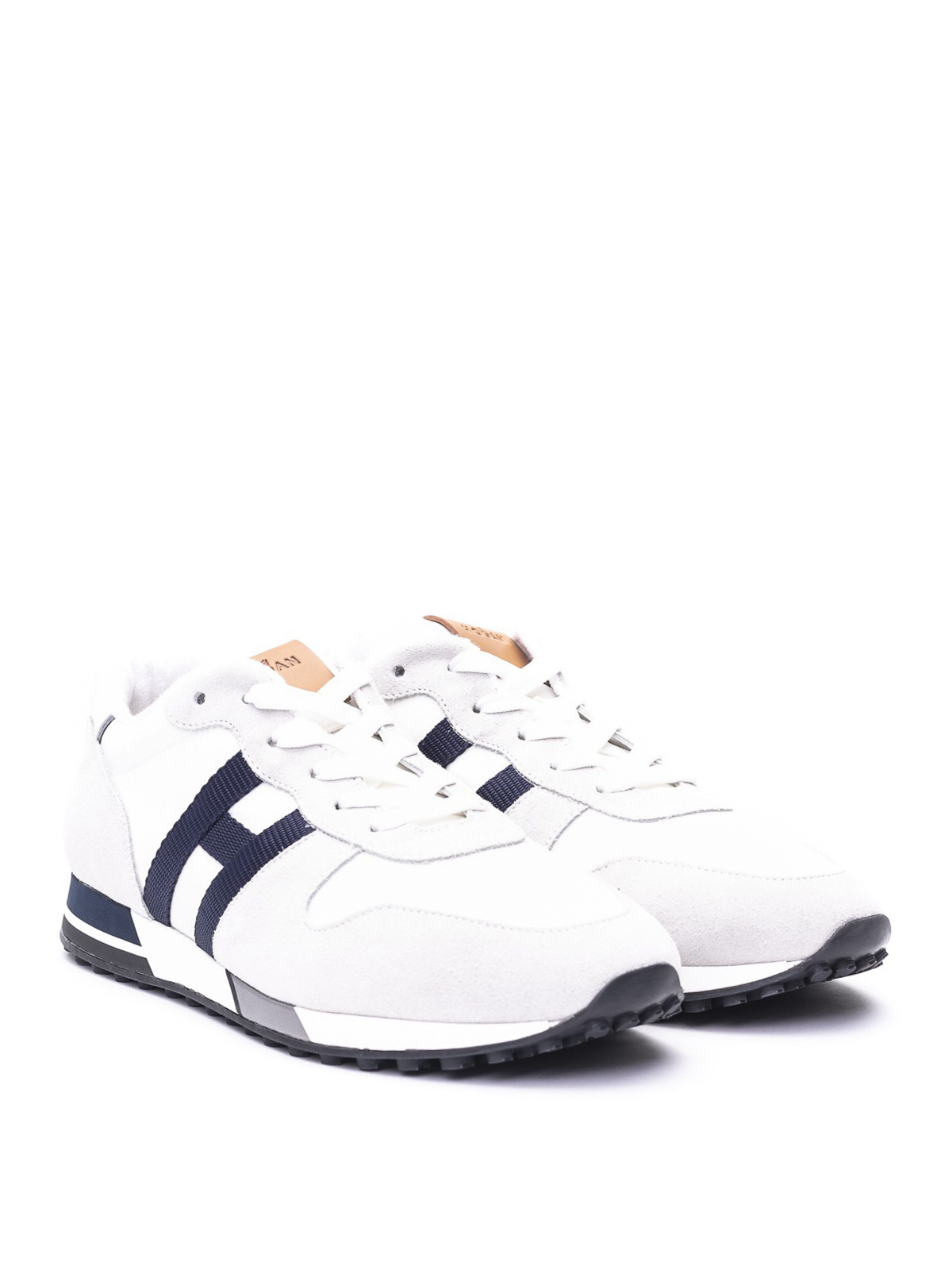 Trainers Hogan - H383 leather sneakers - GYM3830CZ60O58814Z ...
