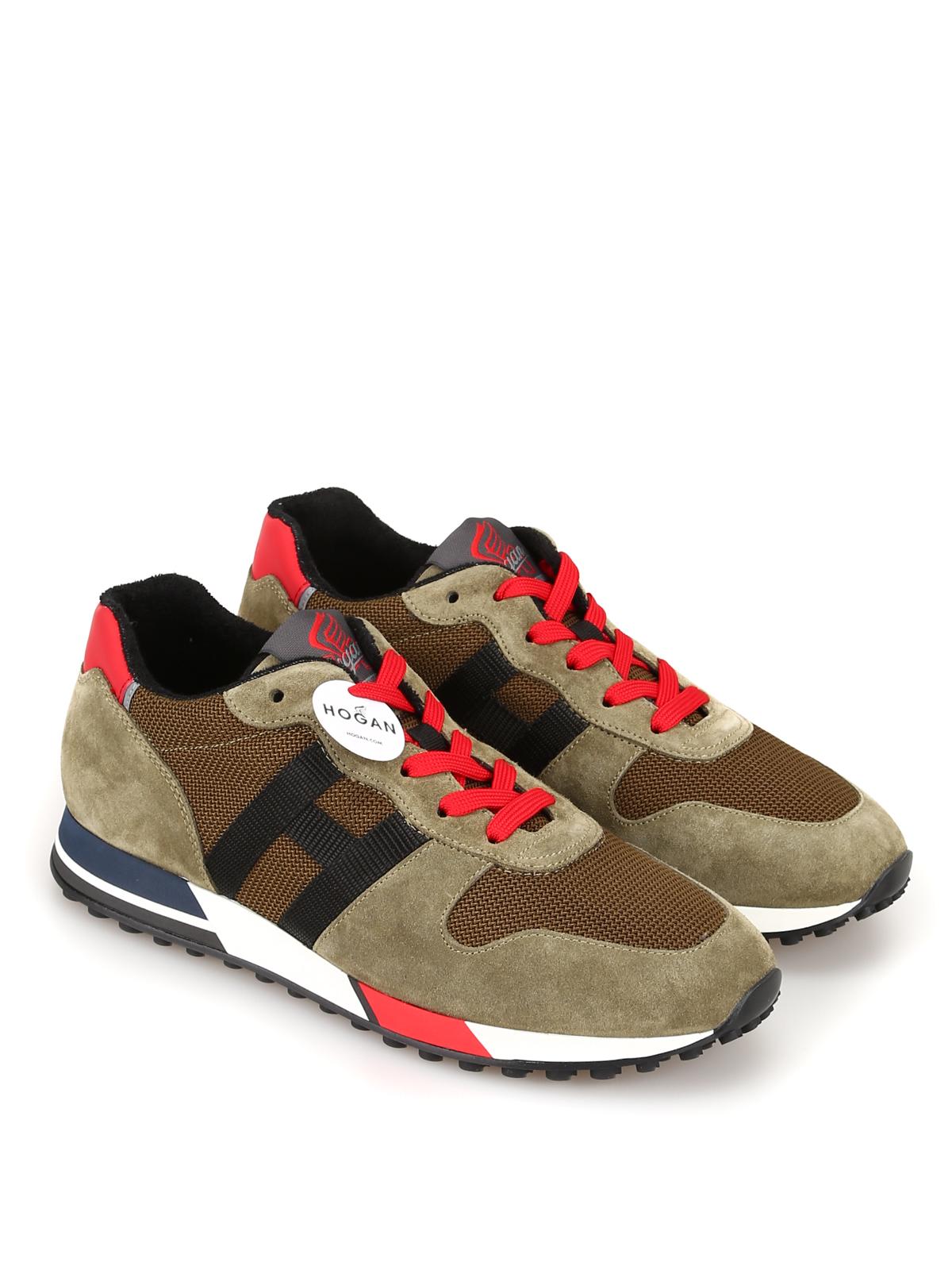 Trainers Hogan - H383 Retro Running sneakers - HXM3830AN51MBV796W