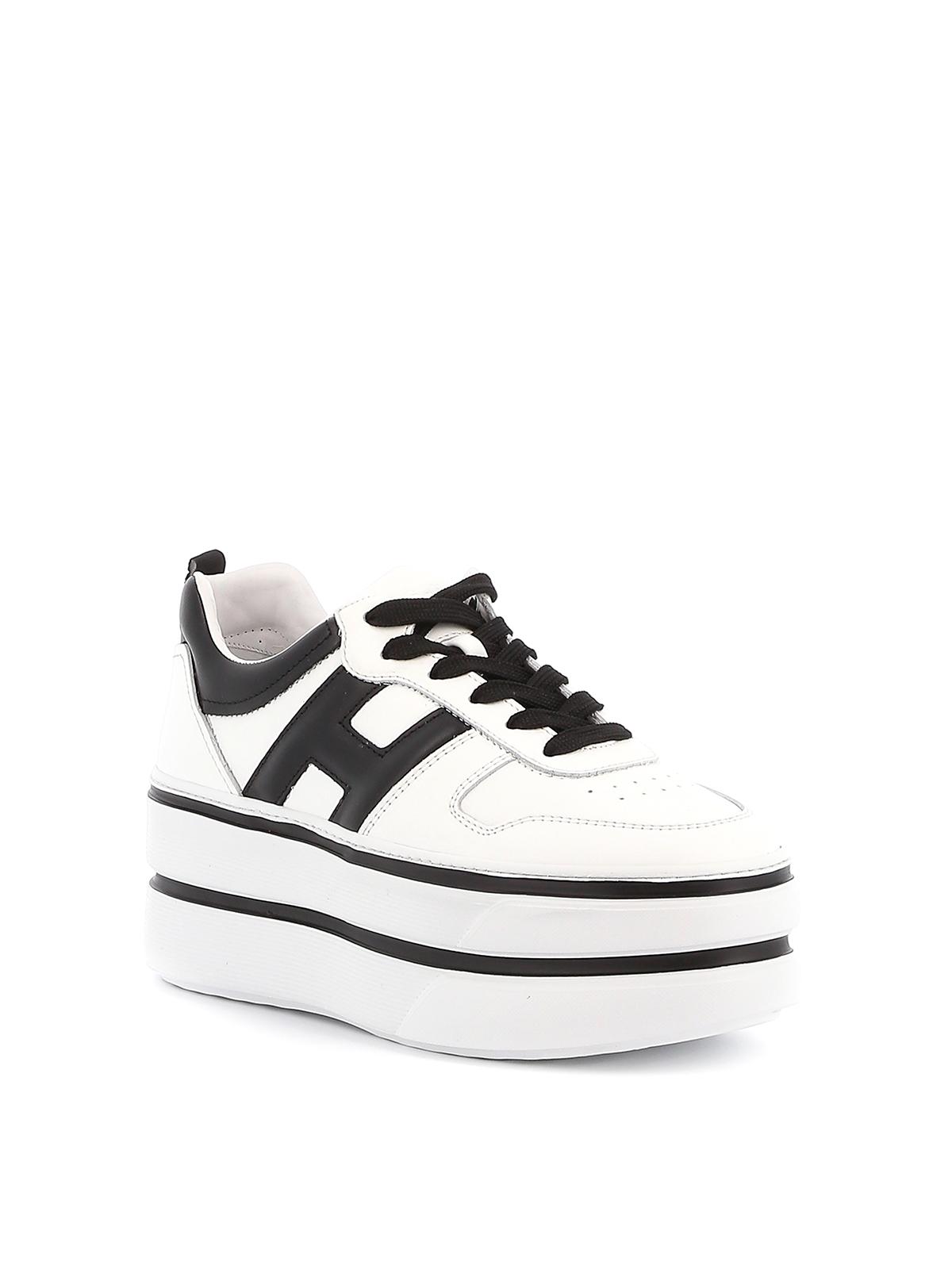 Hogan - H449 bicolour sneakers - trainers - HXW4490BS00KLA0001 ...