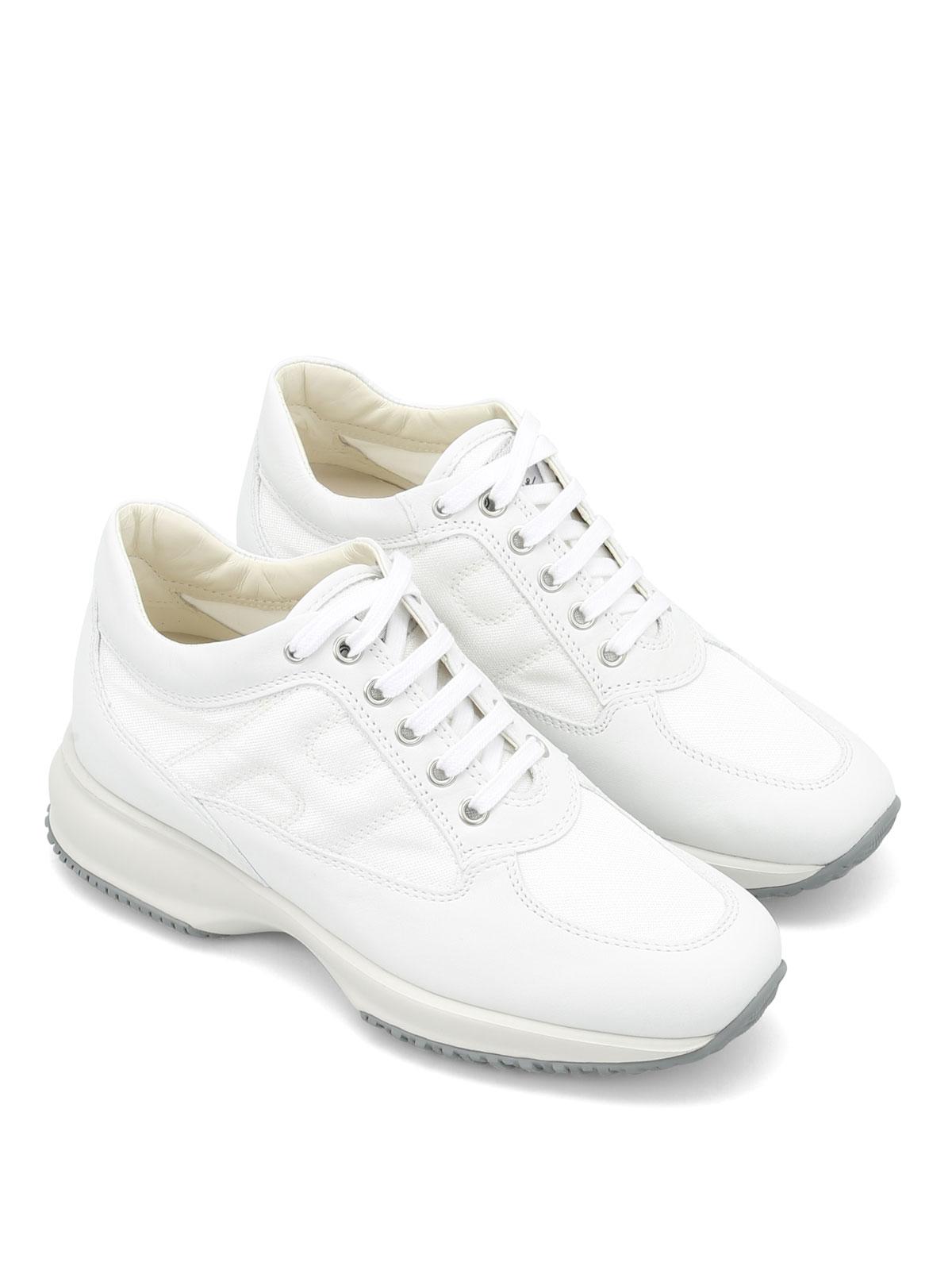 Sneakers Hogan - Interactive in pelle e tessuto - HXW00N00E10FI8B001