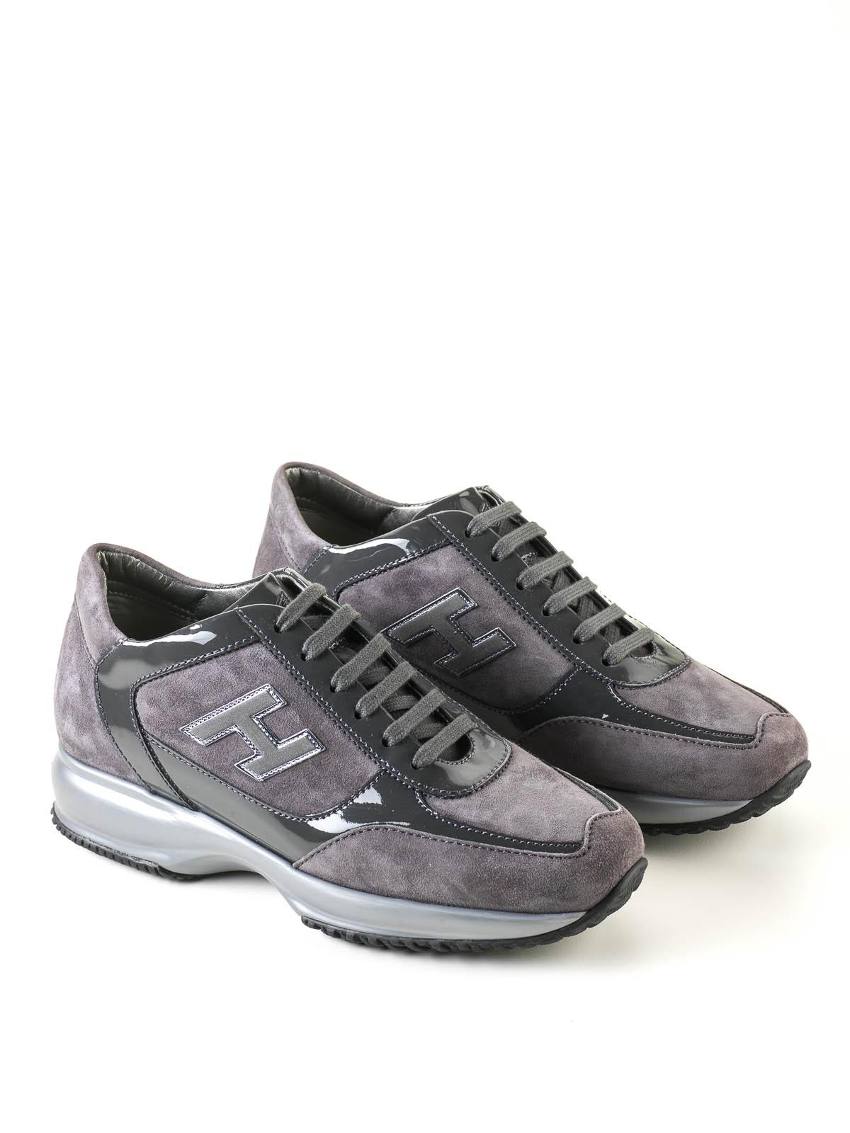 Hogan - Sneaker Fur Damen - Grau - Sneaker - HXW00N02582 IU3 9996 46cc65d68d