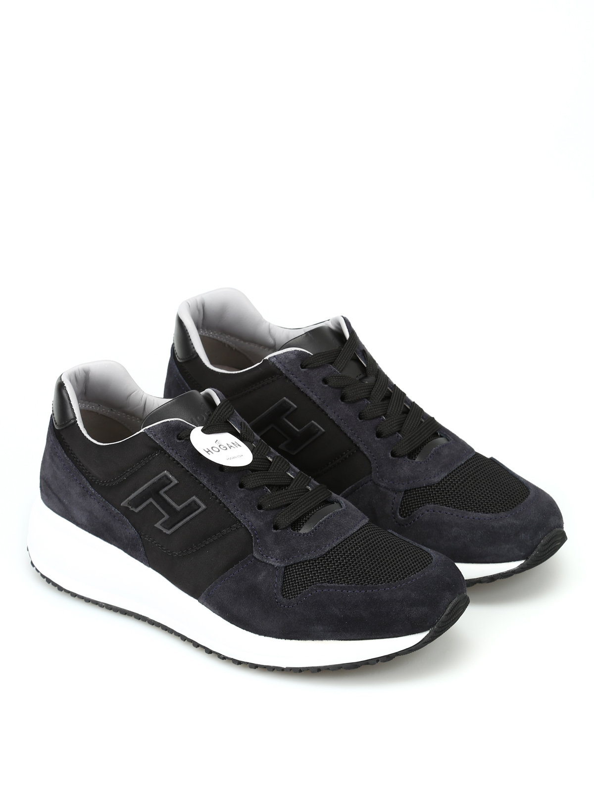 Trainers Hogan - Interactive N20 leather sneakers - HXM2460K670IGH0533