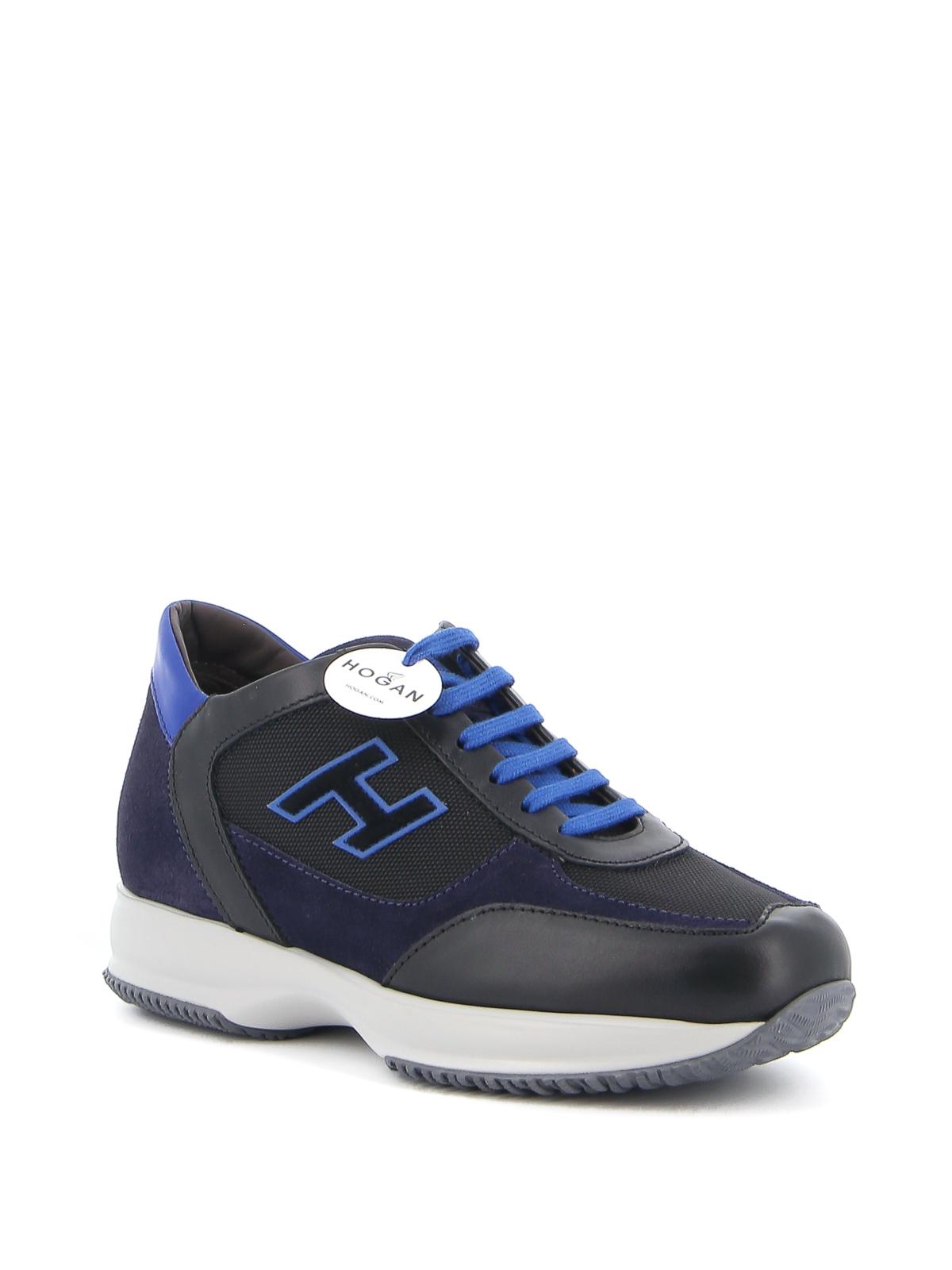 Trainers Hogan - Interactive two-tone sneakers - HXM00N0Q101O8N718N