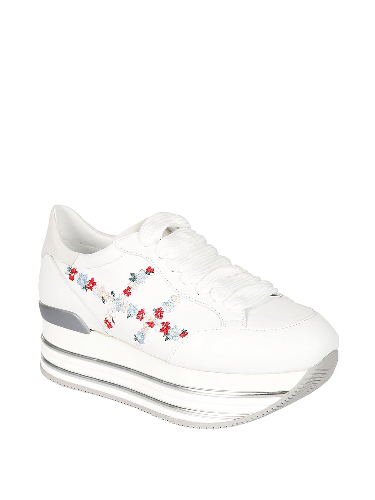 Trainers Hogan - Maxi H222 flowers H sneakers - HXW3460AC90I78B001