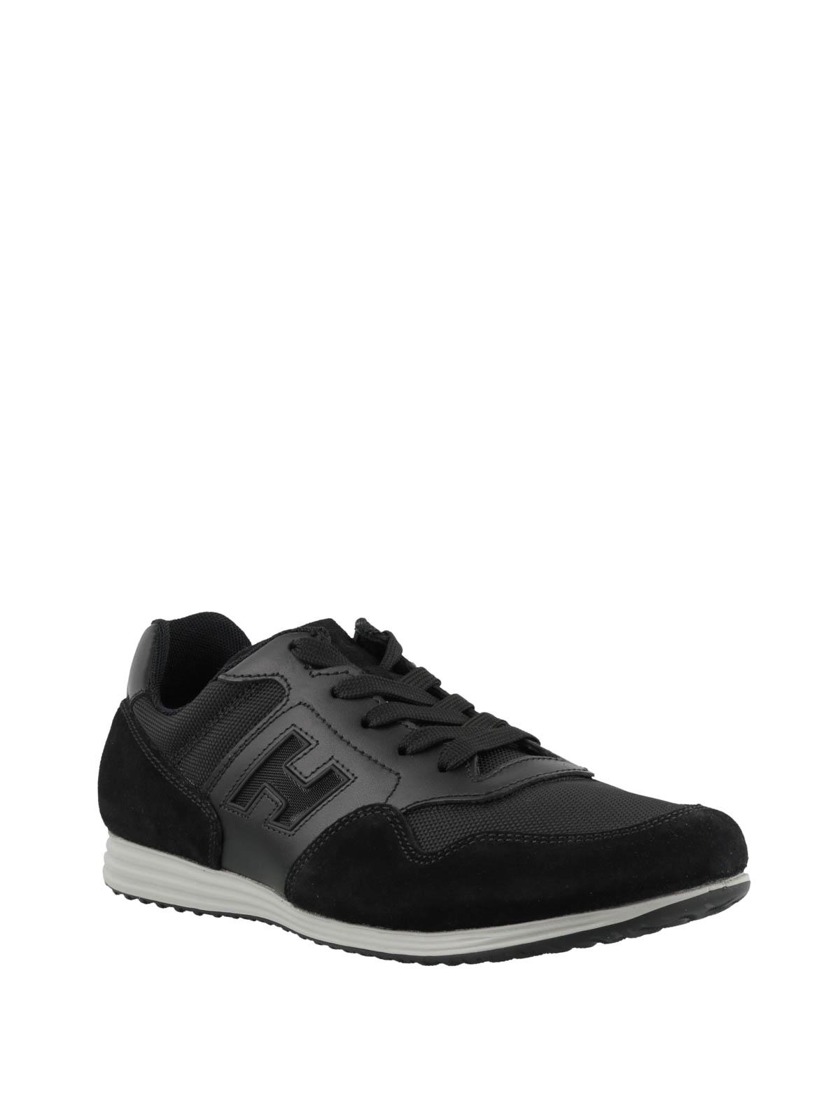 Sneakers Hogan - Sneaker Olympia X - H205 nere - HXM2050X602JMIB999
