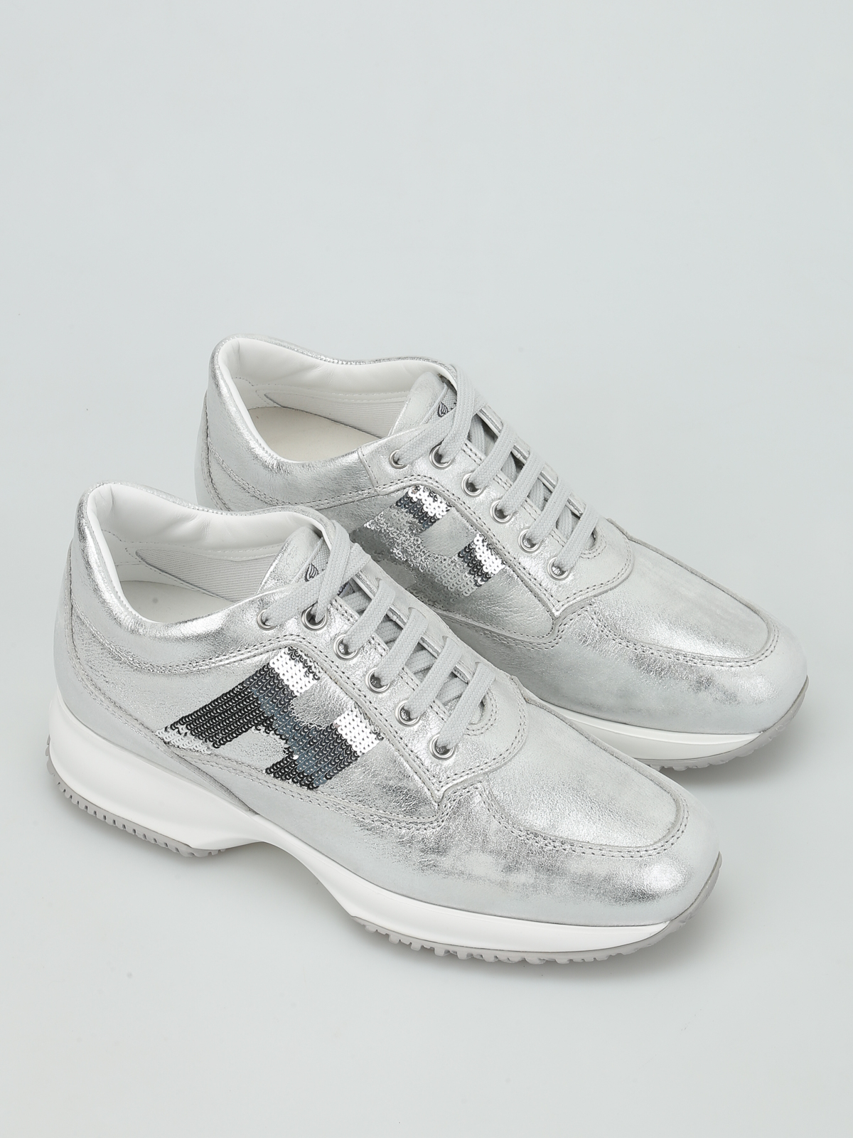 Hogan - Sequin H Interactive sneakers - trainers - HXW00N05641FF7B200