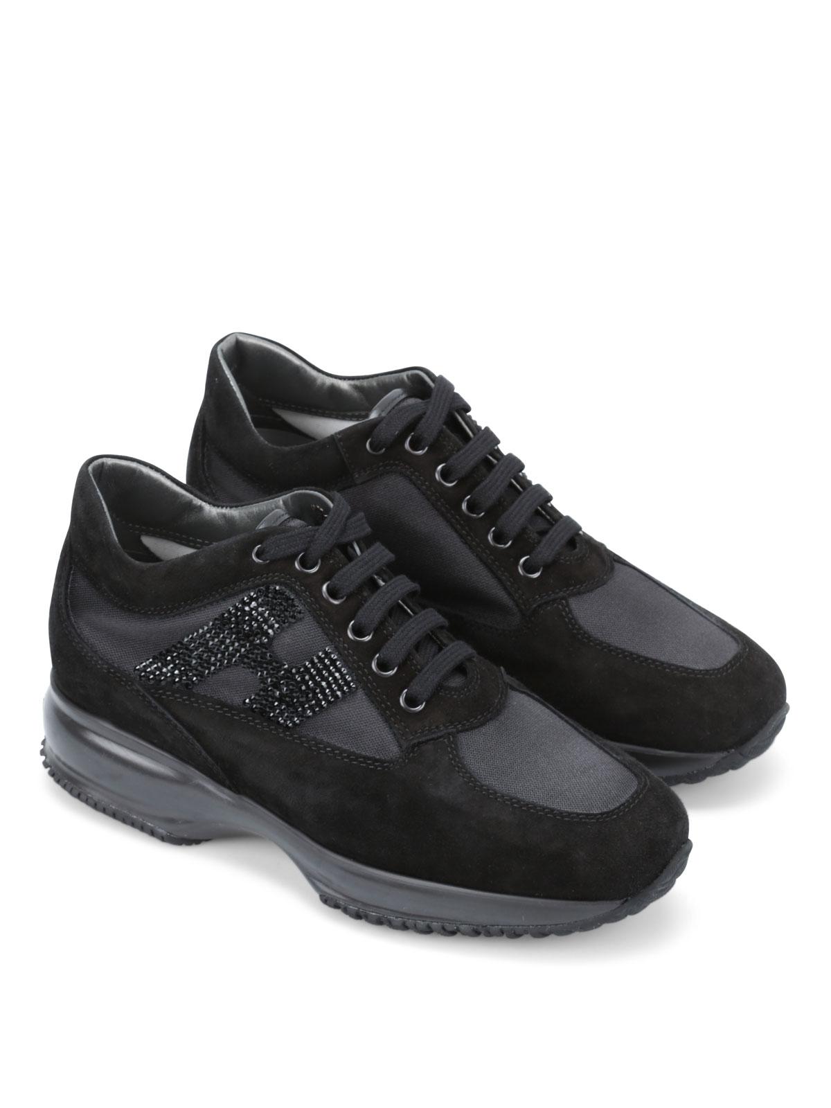 Sneakers Hogan - Interactive H strass - HXW00N02011SG29986   iKRIX.com