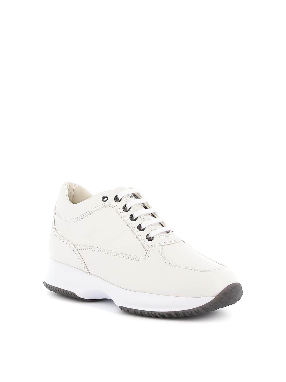 Sneakers Hogan - Interactive H Rilievo Estiva bianca ...