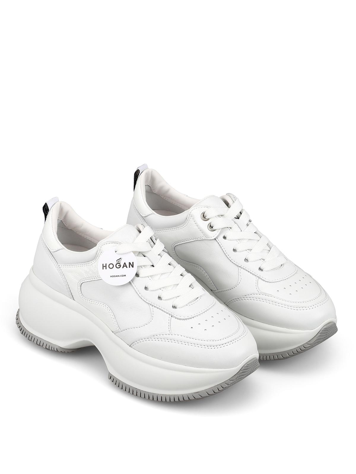 Sneakers Hogan - Sneaker Maxi I Active bianche in pelle ...
