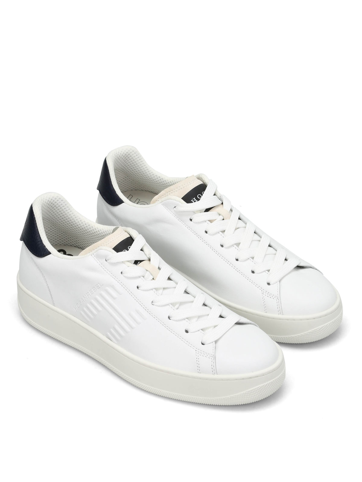 HOGAN REBEL  trainers online - PURE 86 ALLACCIATO LEATHER SNEAKERS 3c5def1aab8