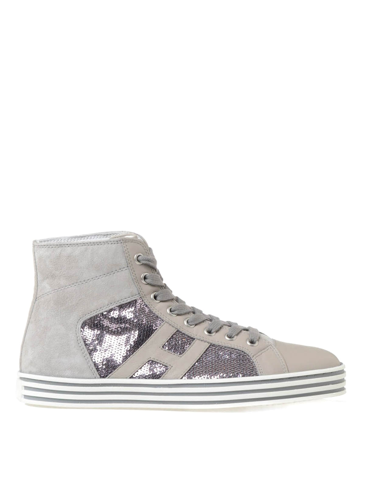 Alta qualit Sneakers Hogan Rebel con Paillettes vendita