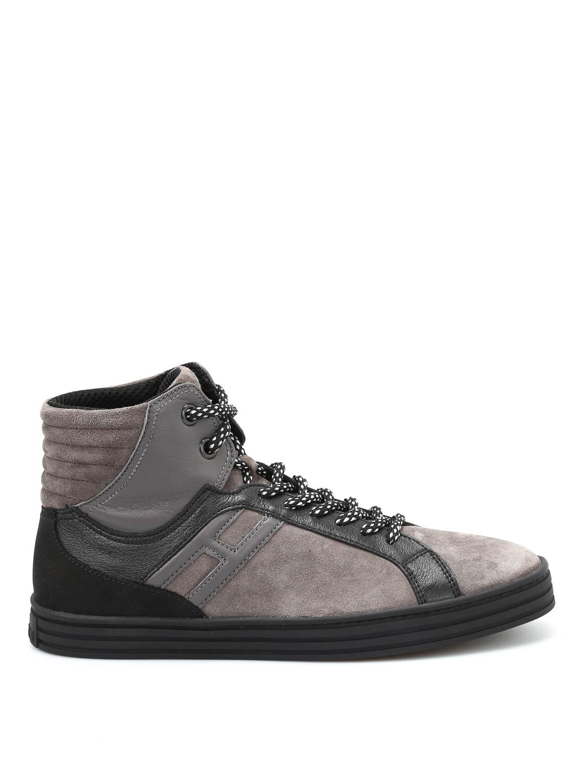 r141 high top basket sneakers by hogan rebel trainers ikrix. Black Bedroom Furniture Sets. Home Design Ideas