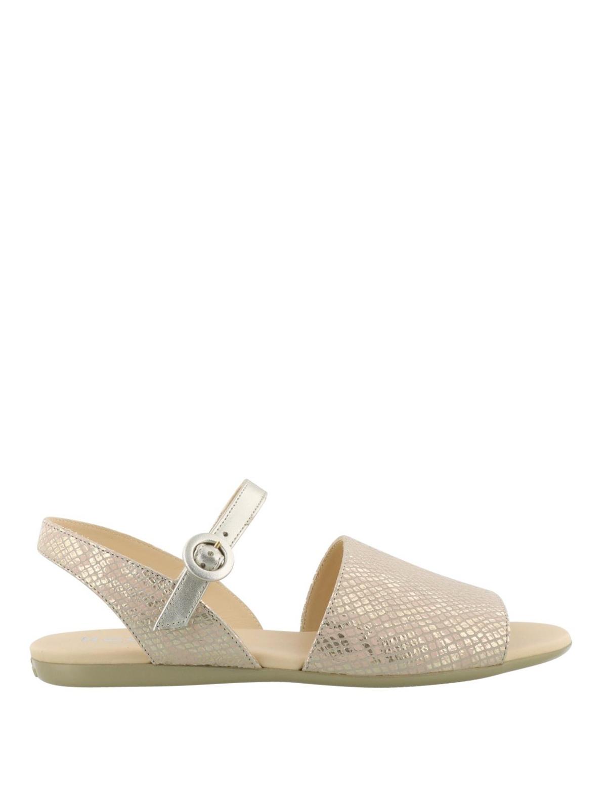 flat sandals - Metallic Hogan bz9DMG