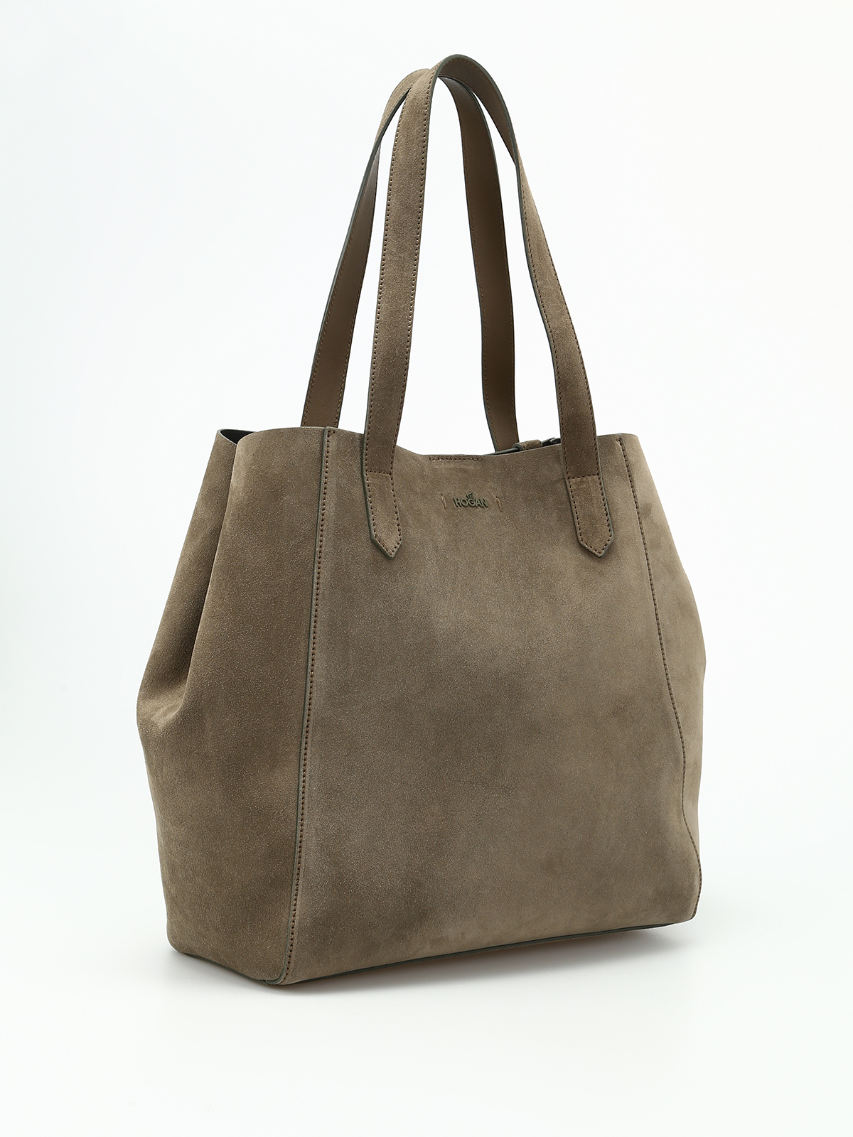 Hogan Suede shopping bag UtiHrHyH4