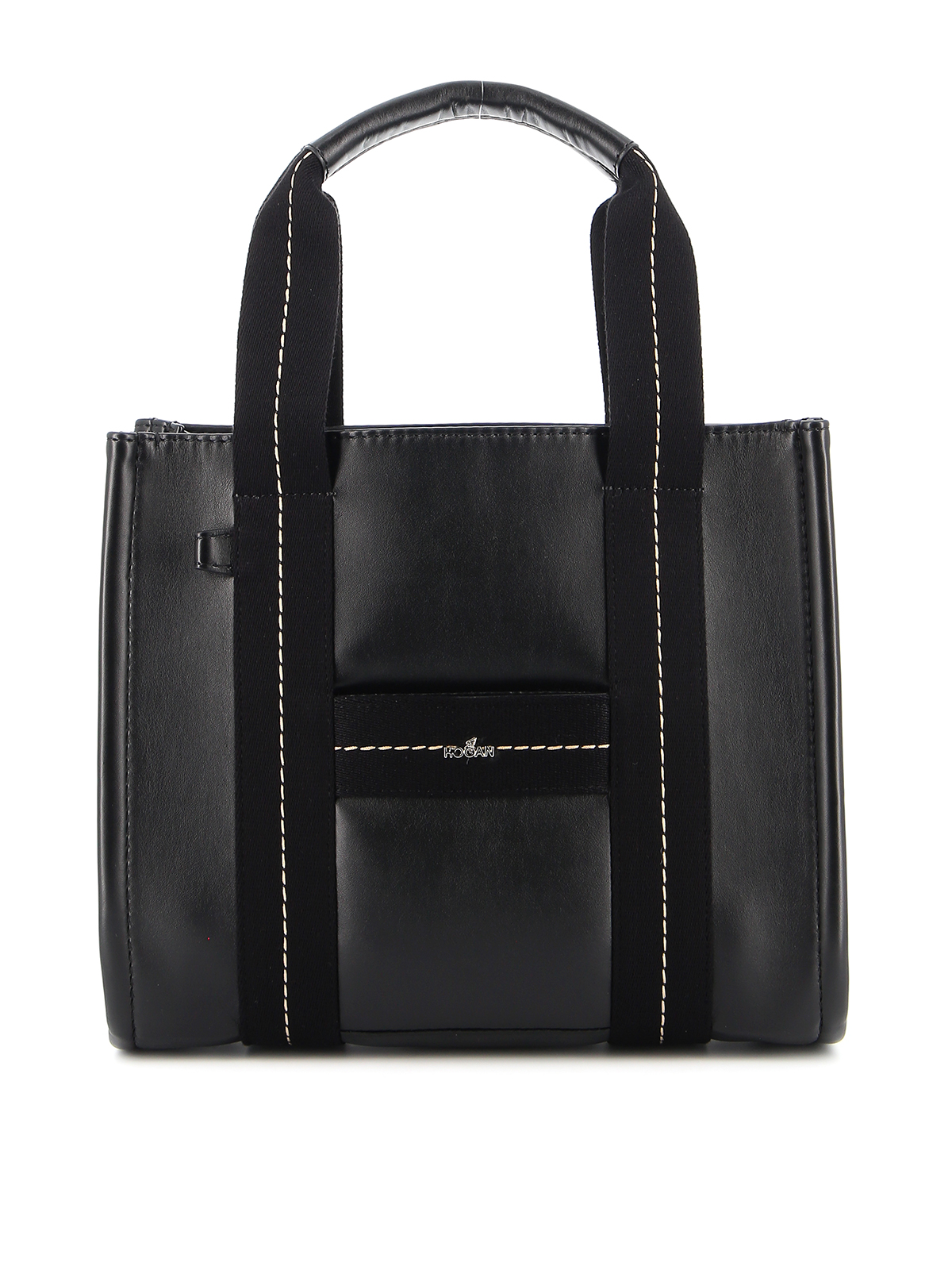 Hogan SMOOTH LEATHER TOTE BAG