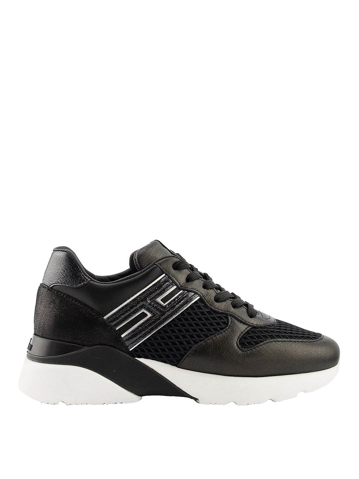 Hogan ACTIVE ONE LEATHER AND MESH SNEAKERS