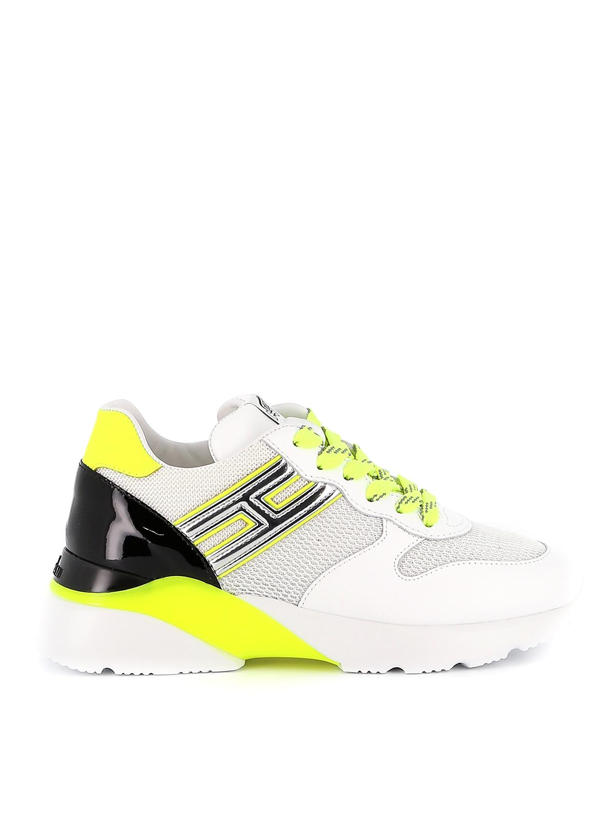 Sneakers Hogan - Sneaker Active One con dettagli fluo ...