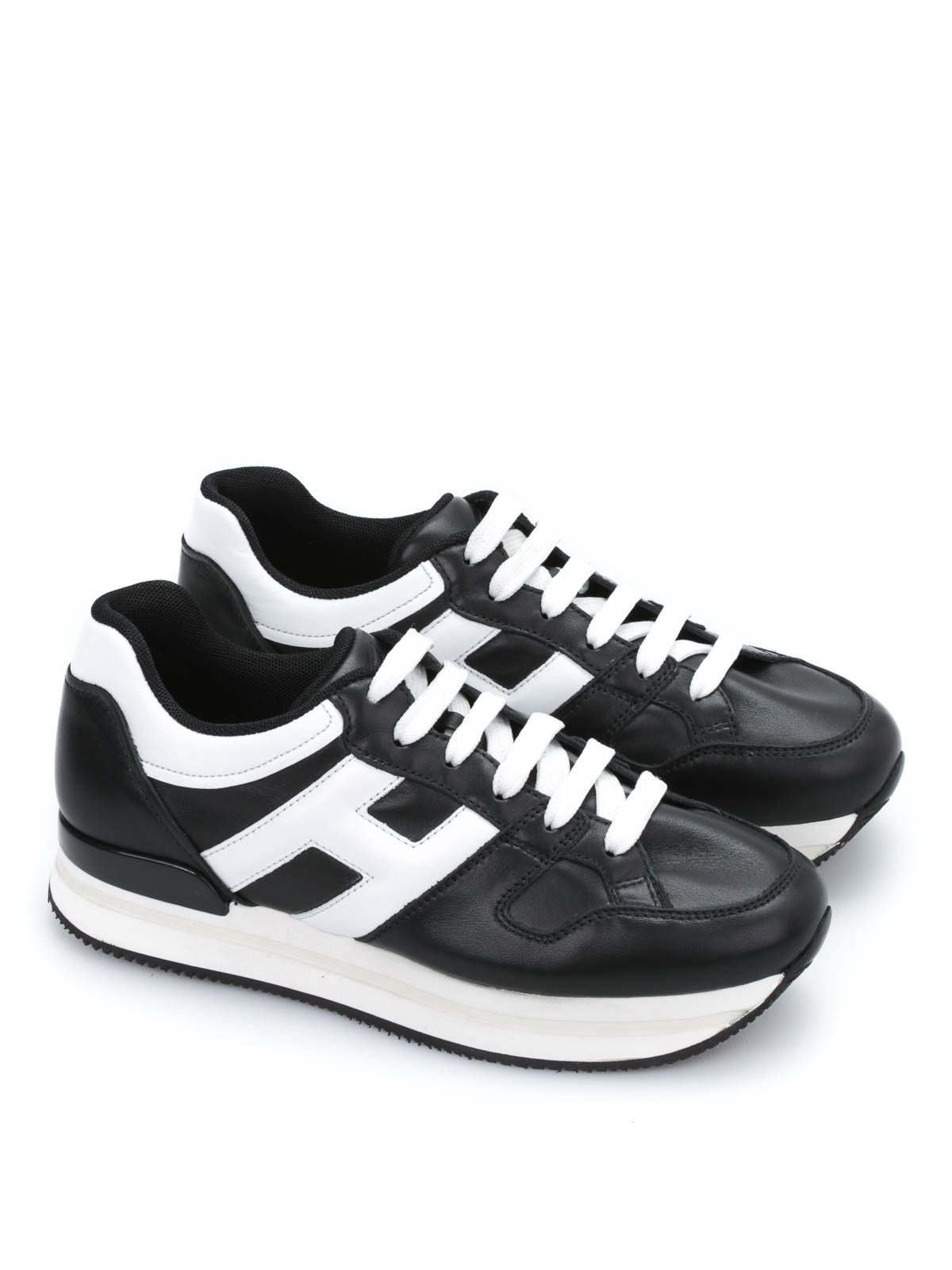 hogan sneakers h222 nero