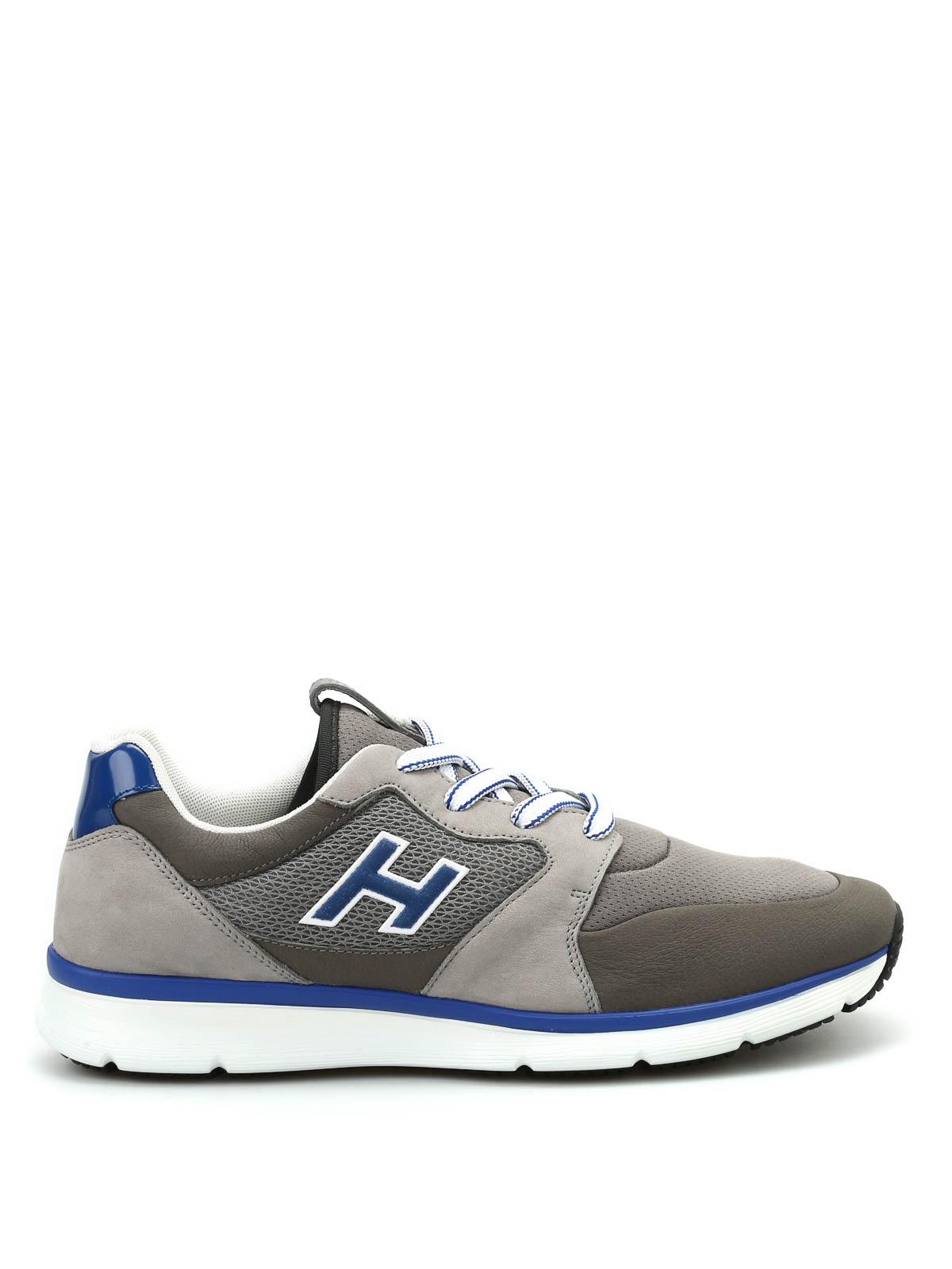 Hogan H254 New H Flock sneakers اسپرت،اسنیکرز