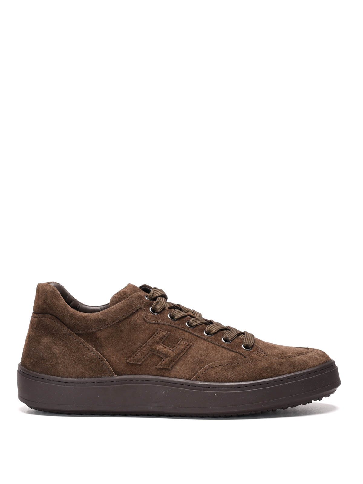 H302 low top suede urban sneakers by Hogan - trainers | Shop online at iKRIX.com ...