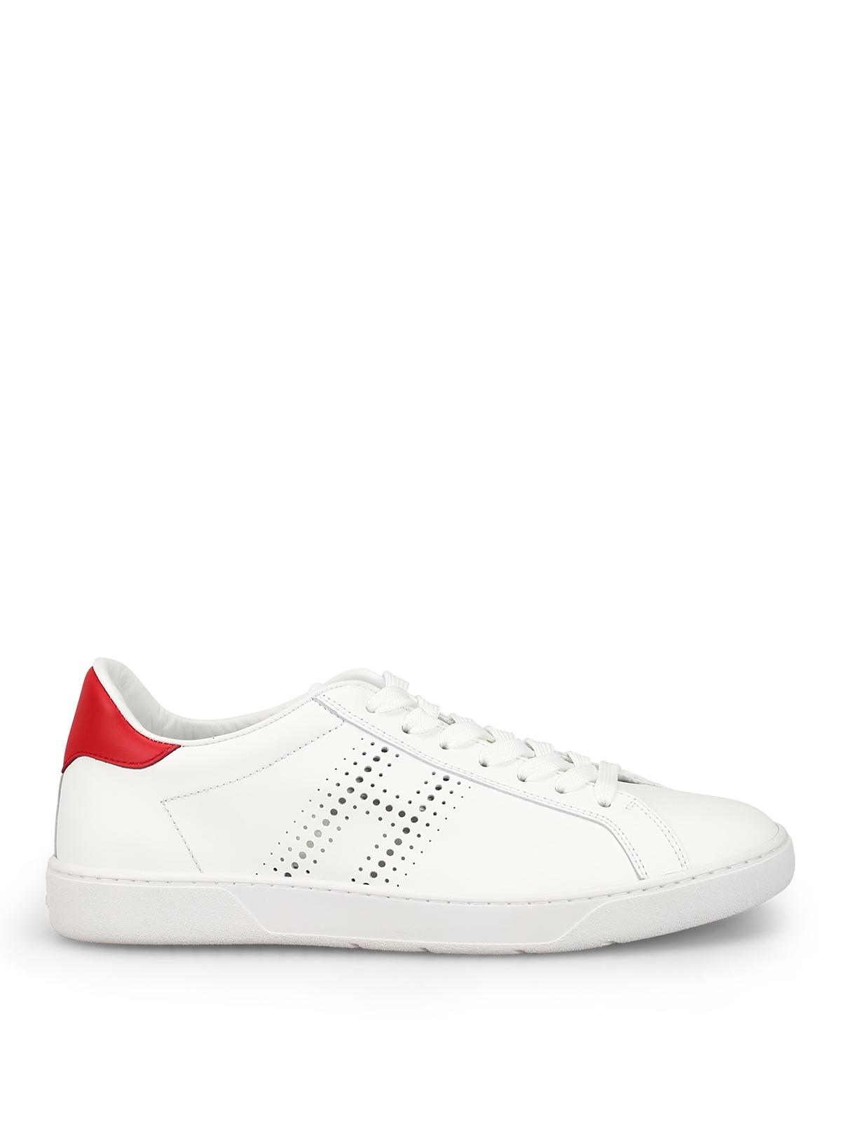 Sneakers Hogan - Sneaker H327 in pelle liscia - GYM3270BT10JBF0029