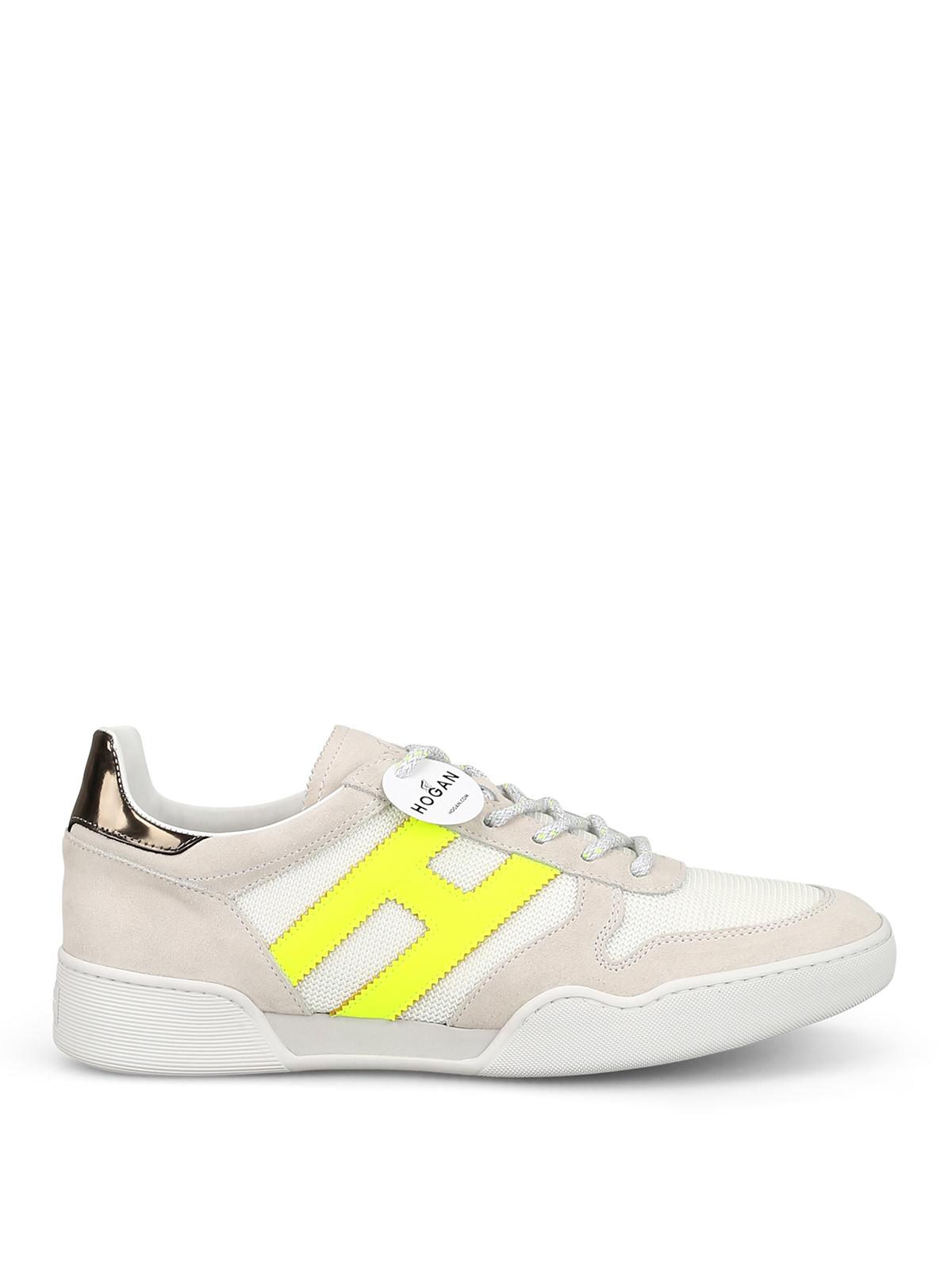 Sneakers Hogan - Sneaker H357 con H fluo - HXM3570AC42KF76EDN ...