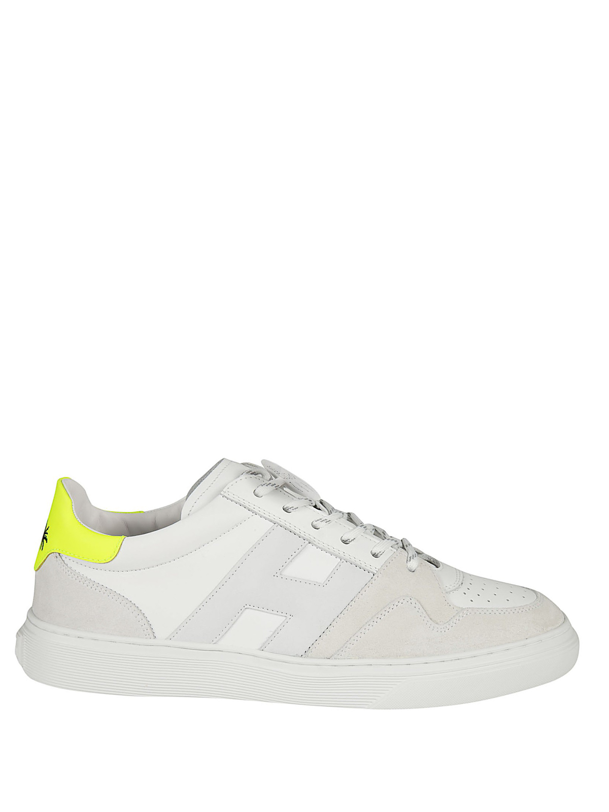 Hogan - H365 fluo heel basket style sneakers - trainers ...