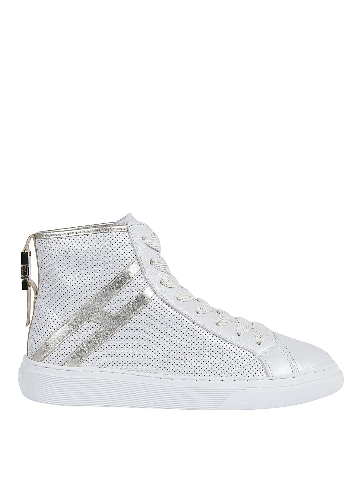 Sneakers Hogan - Sneaker H365 alte in pelle - HXW3660CN70N0Q1556