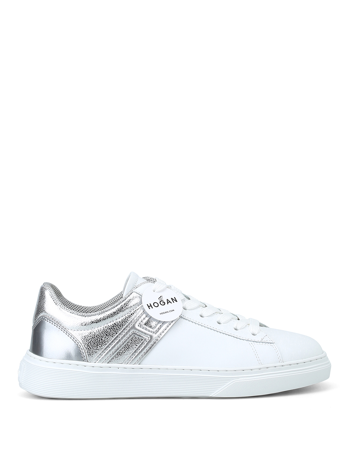 855139b97f794 Hogan - Sneaker H365 bianche e argento - sneakers - HXW3650J971JCU0351