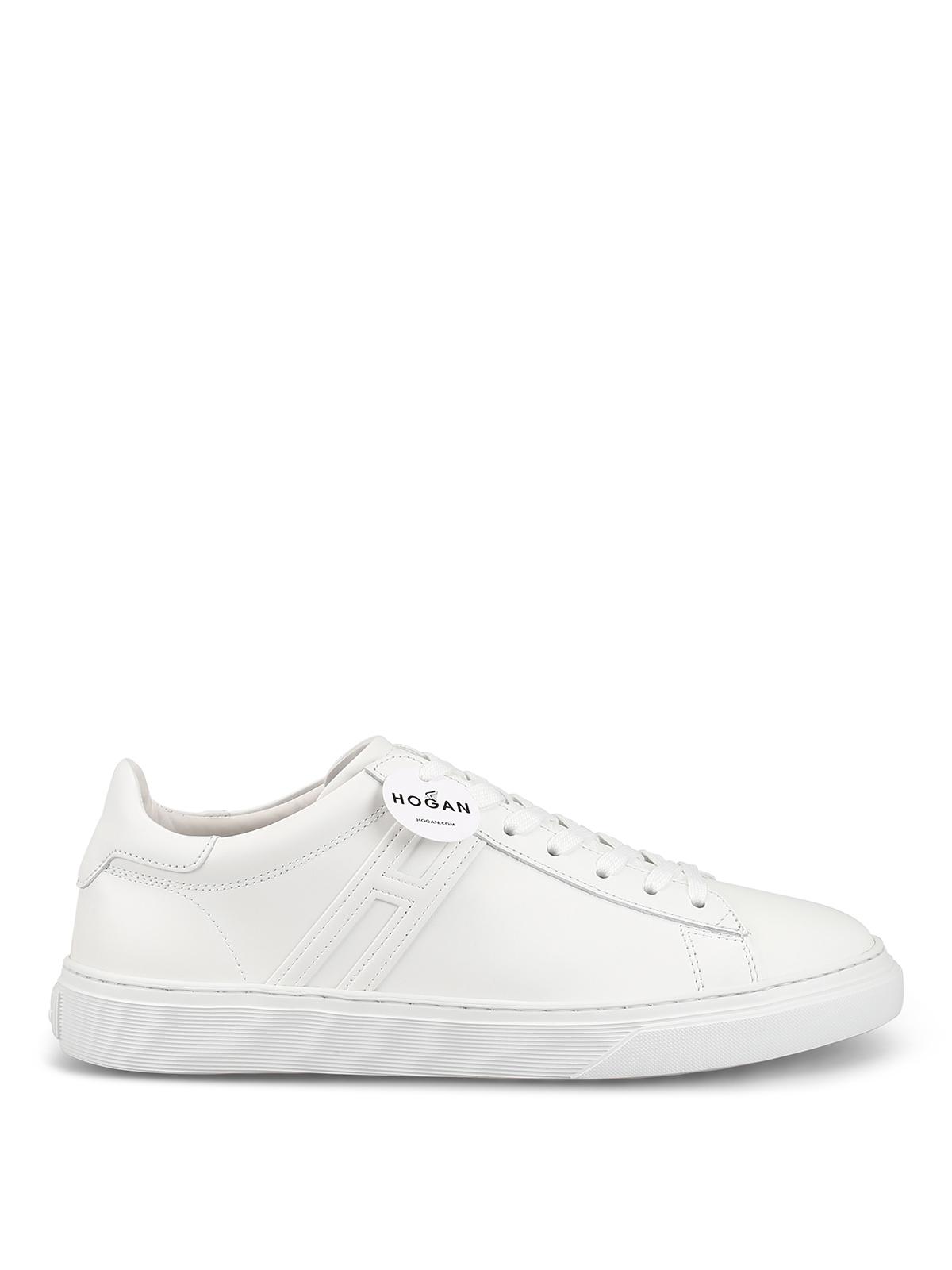 Sneakers Hogan - Sneaker H365 bianche in pelle - HXM3650J960KLAB001
