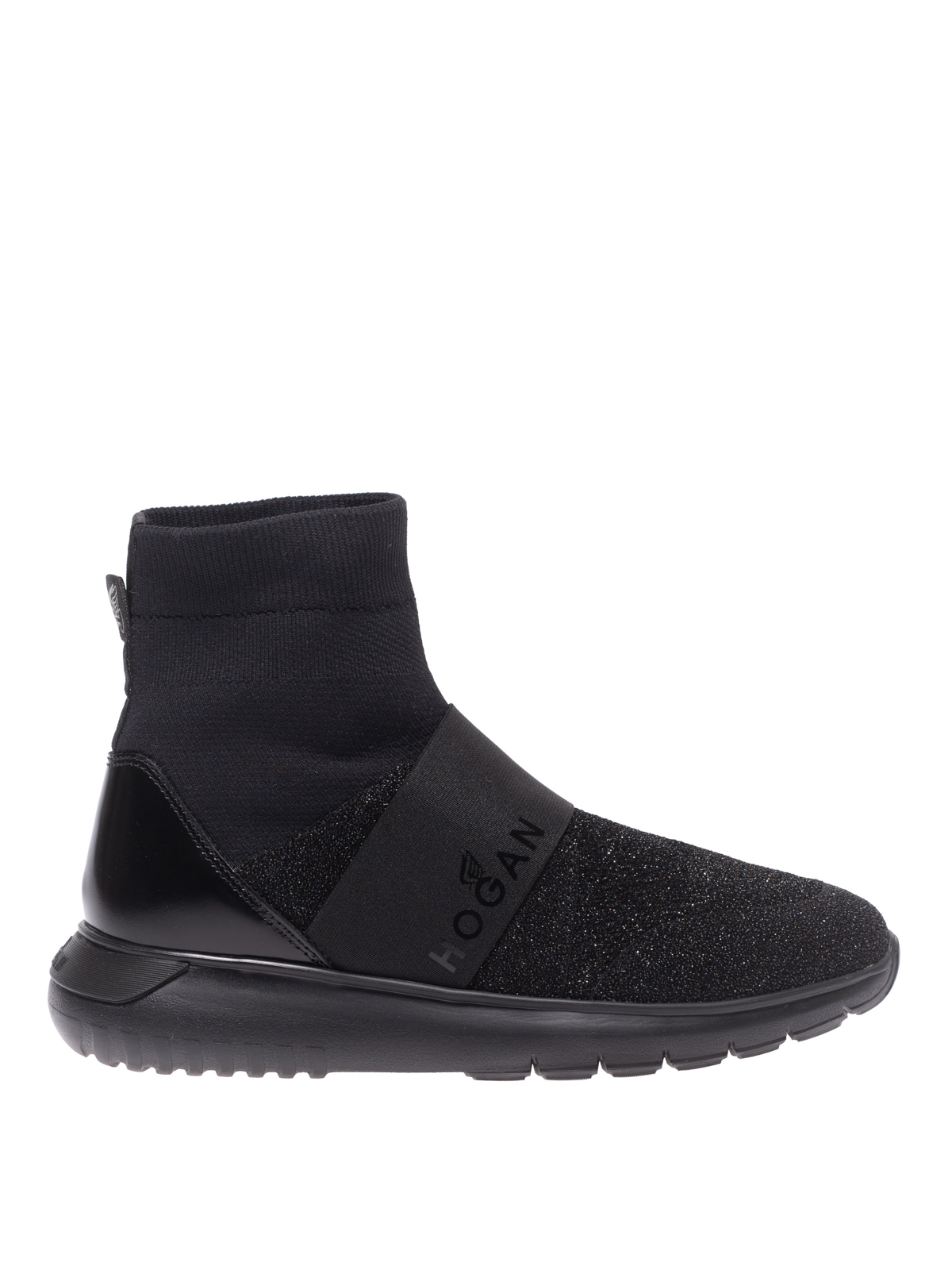 Sneakers Hogan - Sneaker a calza Interactive³ nere ...