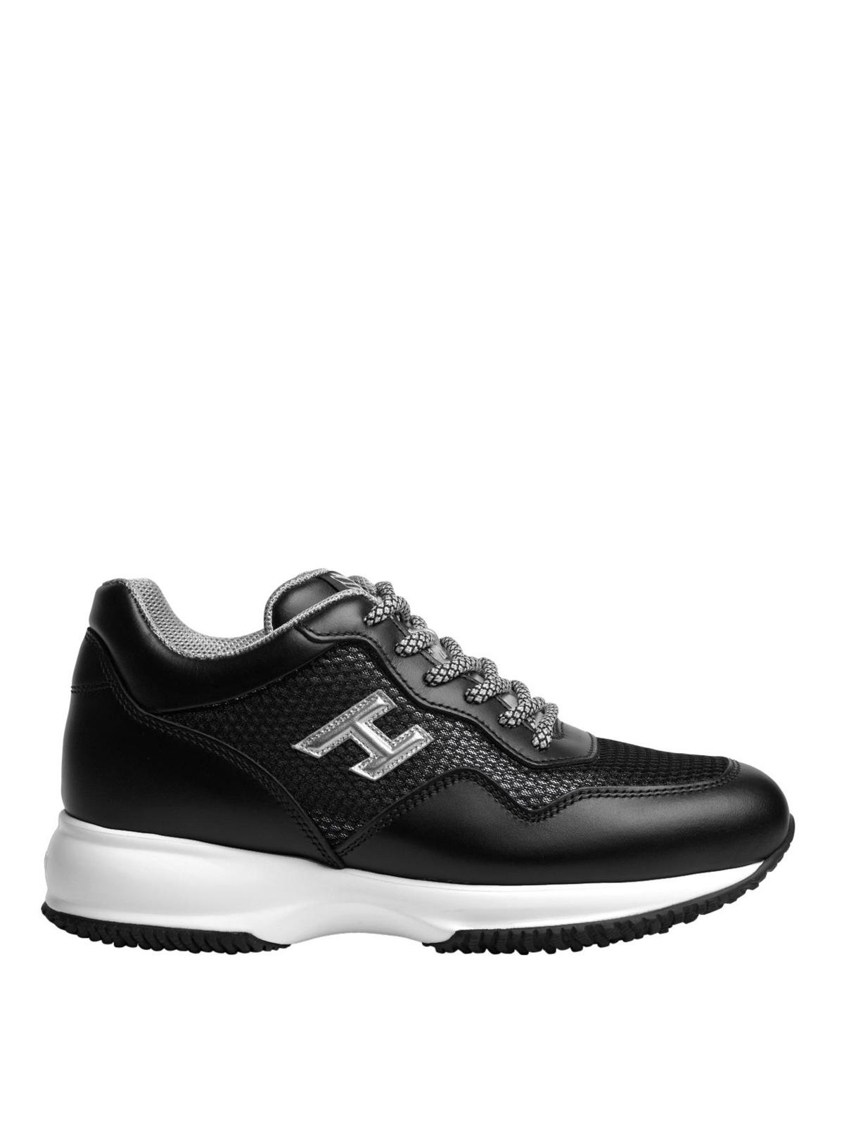 Sneakers Hogan - Sneaker Interactive nere estive - HXW00N0W661IGA0QBM