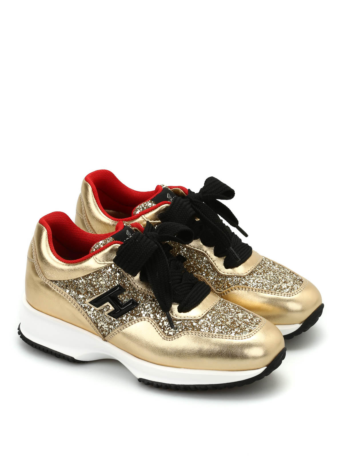 hogan glitter trainers