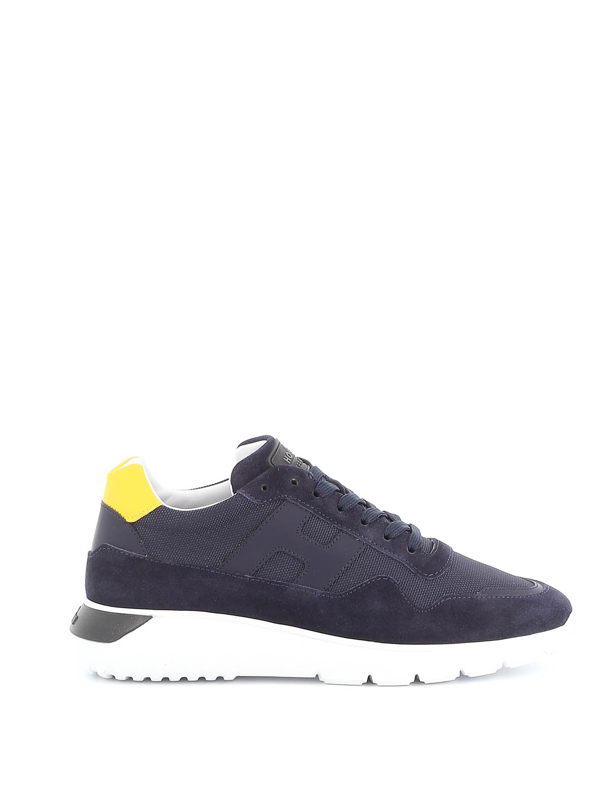Hogan - Interactive³ fabric and suede sneakers - trainers ...