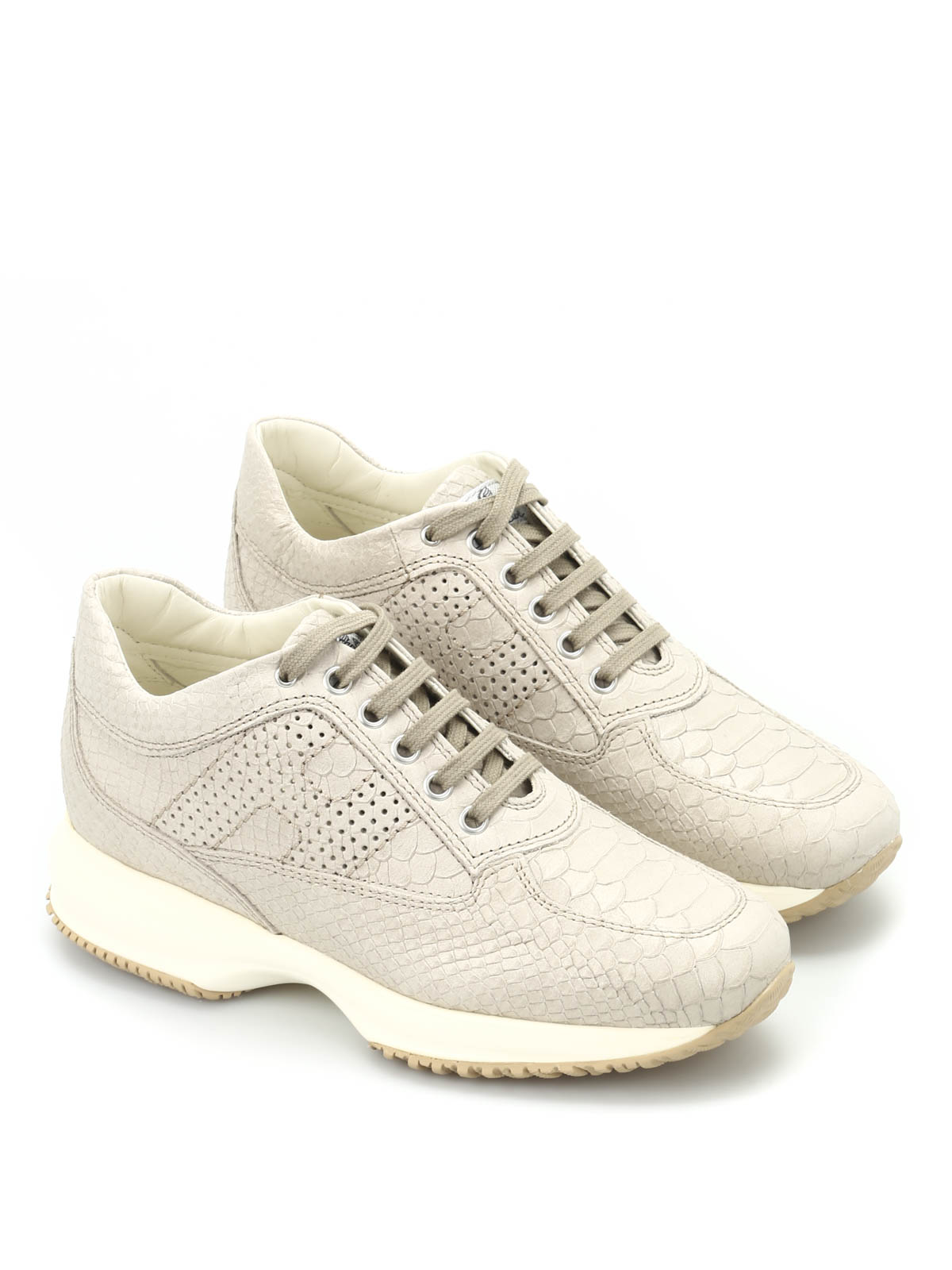 Trainers Hogan - Interactive python-effect sneakers ...
