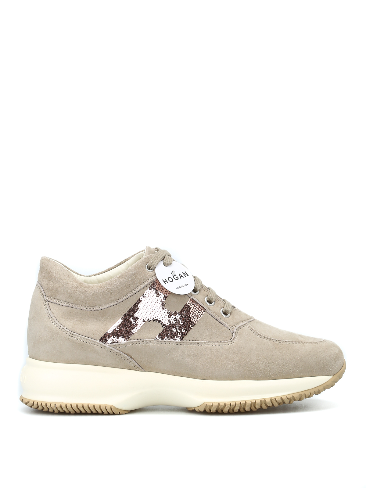 Sneakers Hogan - Interactive con H in paillettes - HXW00N05641CR0C406