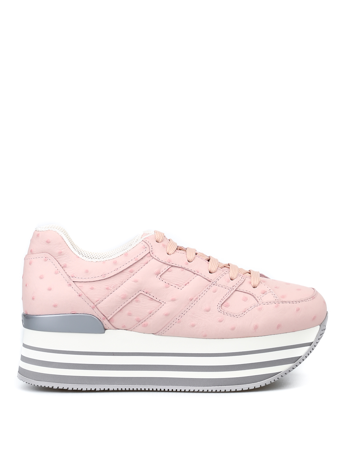 Hogan - Sneaker Maxi 222 stampa struzzo - sneakers - HXW2830T548I9FM413 0bf0e1d3d3d