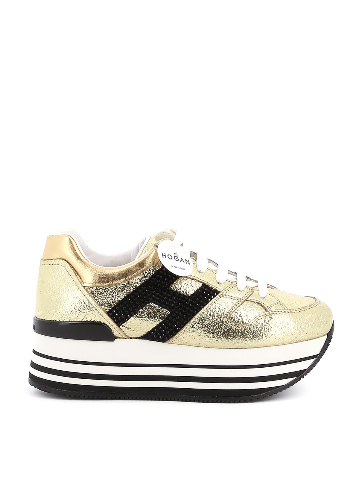 Trainers Hogan - Maxi H222 sneakers - HXW2830Y411NF71805 | iKRIX.com