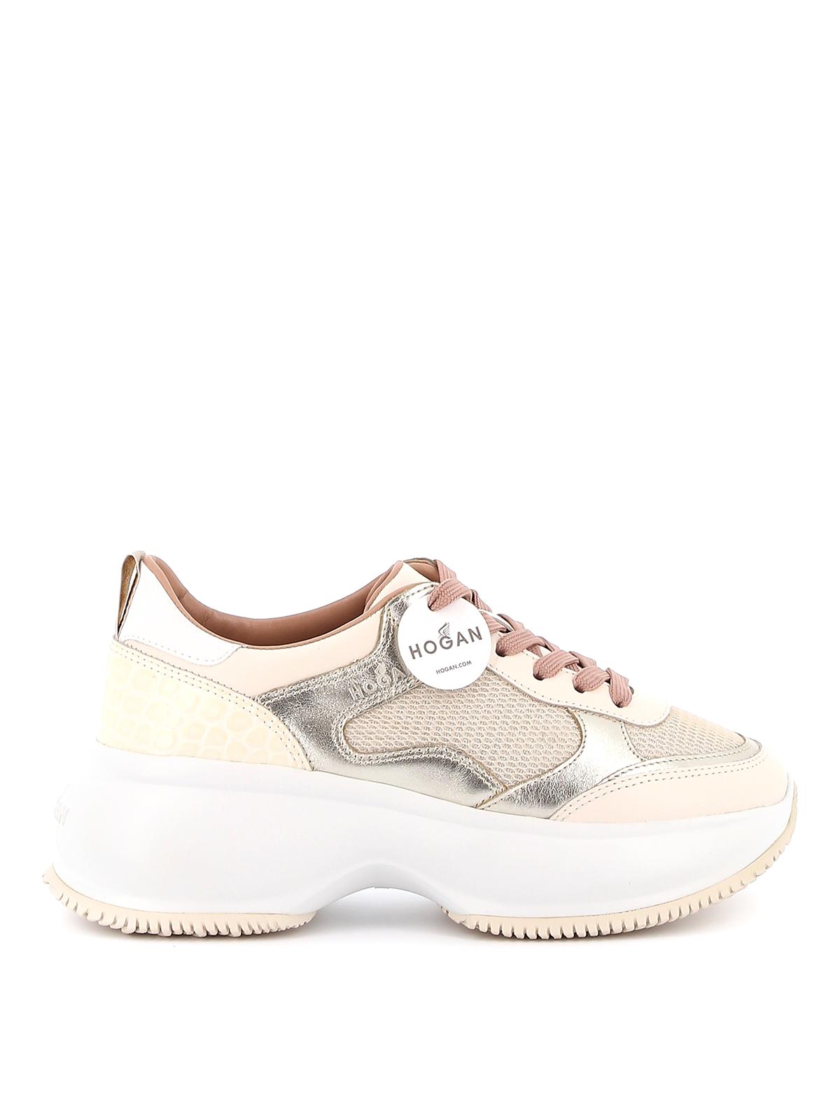 hogan maxi active sneakers