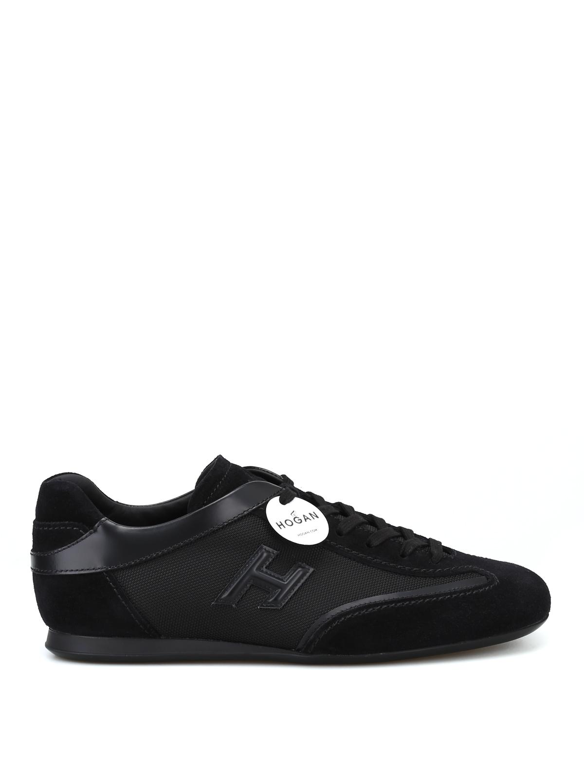 Trainers Hogan - Olympia black low top sneakers - HXM0570I972JC8B999