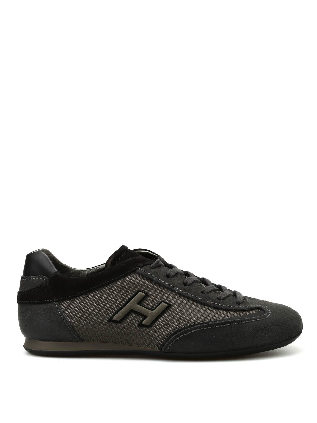 Sneakers Hogan - Olympia slash H flock - HXM05701682E1M209V ...