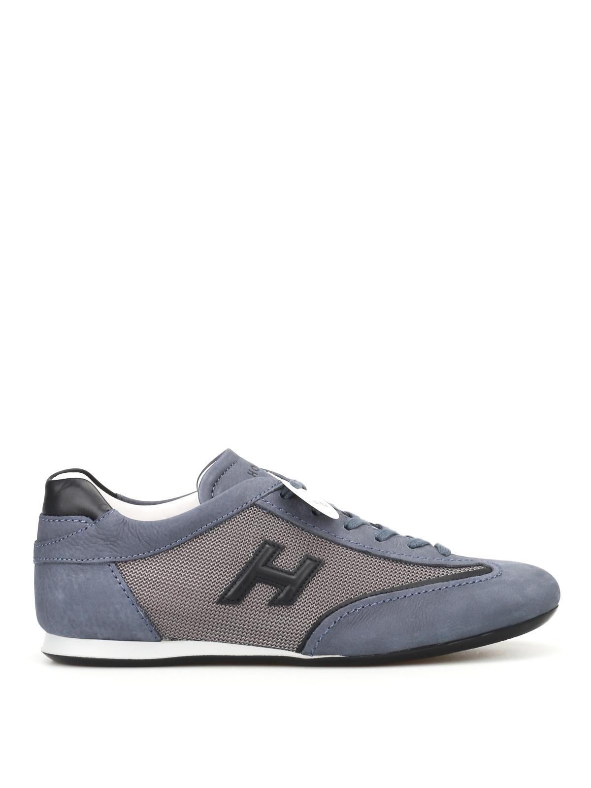 Hogan - Sneaker blu Olympia Slash H3D - sneakers - HXM0520I974IGK0PCP